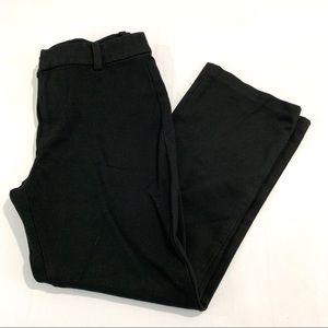 Madewell Black Cali Demi Boot Black Pants